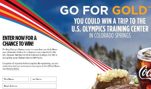GO FOR THE GOLD SWEEPSTAKES