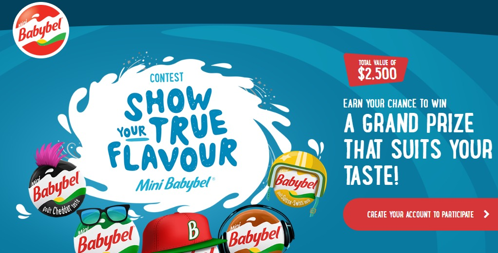 Mini Babybel Show Your True Flavour Contest-Chance To Win