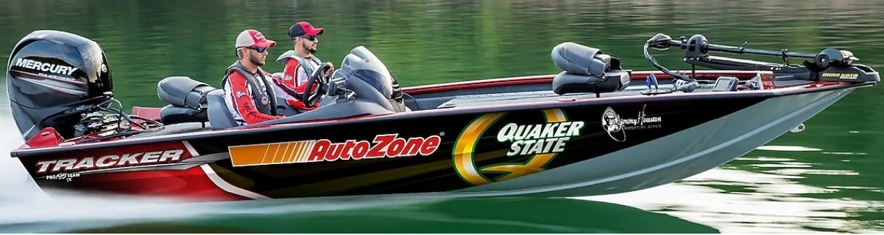 Quaker State AutoZone Jimmy Houston Boat and Trailer